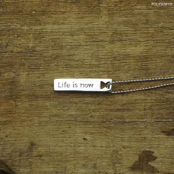 Tags of life Life is now