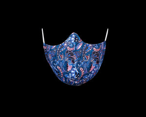 Blue Floral Pattern - Extended Nose Collection