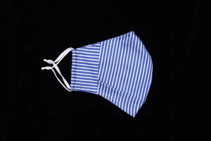 Blue & White Stripe Pattern - Extended Nose Collection