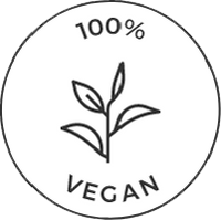 100% Vegan Icon