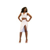 The Luxe Mode Bella Sultry White Two Piece Junior's