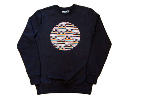 Circle Pattern Sweatshirt