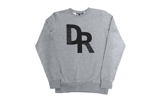 Dee Rosa Logo Sweatshirt (Heather Grey)