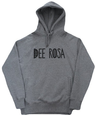 Dee Rosa Logo Hooded Sweatshirt (Dark Heather)