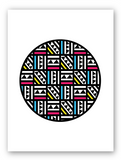 Tribal Circle Multi Colour