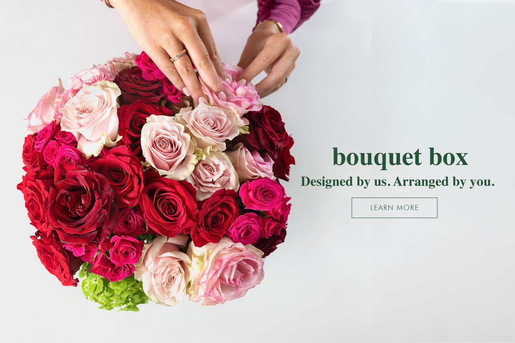 Learn more about bouquet box