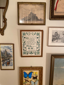 Irish Blessing Cross Stitch