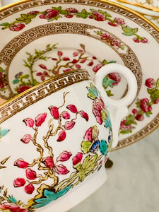 Spode Indian Cream Soup & Saucer
