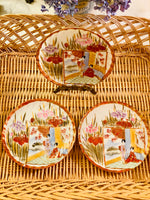 Load image into Gallery viewer, Set of 3 Hand Painted Plates