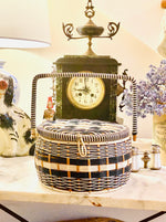 Load image into Gallery viewer, Parisian Chic Vintage Sewing Basket