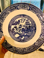 Load image into Gallery viewer, Instant Blue Willow Plate Wall