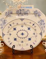 Load image into Gallery viewer, Vintage Blue Denmark Ironstone Platter