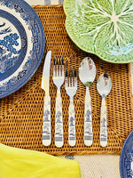 Load image into Gallery viewer, Very Rare Blue Willow Flatware
