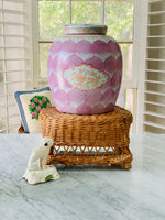 Load image into Gallery viewer, STUNNING 🌸Pink🌸Ginger Jar