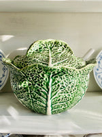 Load image into Gallery viewer, Bordallo Pinheiro Cabbage Tureen with Ladle