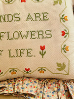 Load image into Gallery viewer, Darling Needlepoint Pillow
