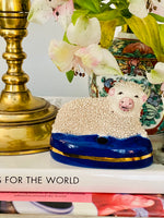 Load image into Gallery viewer, Stafforshire Confetti Sheep Inkwell