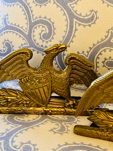 Virginia Metalcrafters Eagle & Shield Bookends