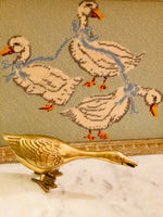 Load image into Gallery viewer, Darling Brass Goose