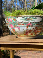 Load image into Gallery viewer, Large & Vibrant Famille Rose Bowl