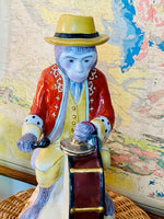 Load image into Gallery viewer, Vintage 12 inch Monkey with Drum & Cymbals