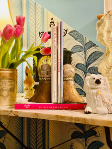 Two Toned Stunning Tassel Bookends