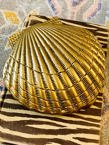 Solid Brass Seashell Door Knocker - Andrea Sadek