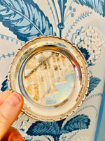 Load image into Gallery viewer, Set of 6 Silver Plated Swedish Coaster