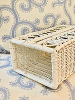 Load image into Gallery viewer, Vintage Wicker Kleenex Box Cover