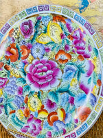 Load image into Gallery viewer, Hand Painted Colorful Plate