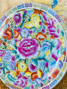 Hand Painted Colorful Plate