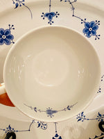 Load image into Gallery viewer, Set of 6 Blue Denmark Teacups