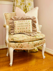 Darling Needlepoint Pillow