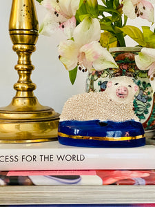 Stafforshire Confetti Sheep Inkwell