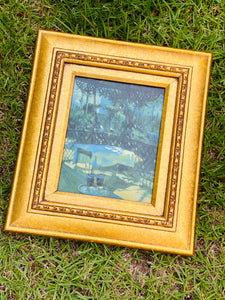 Beautiful Oil Painting with Stunning Frame