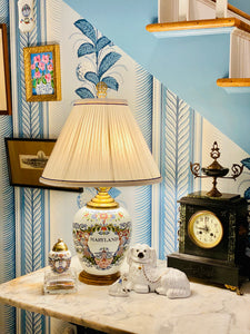 Delft Polychrome Maryland Lamp