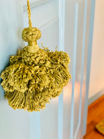 Load image into Gallery viewer, Lovely Green Vintage Tassel