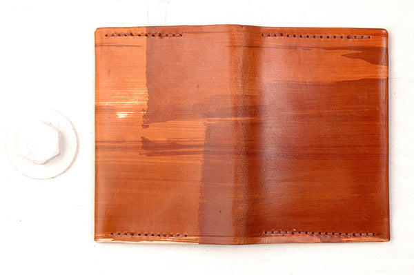FOLD WALLET - BROWN
