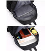 "Pleated Casual Style Laptop Backpack (15.6"")"