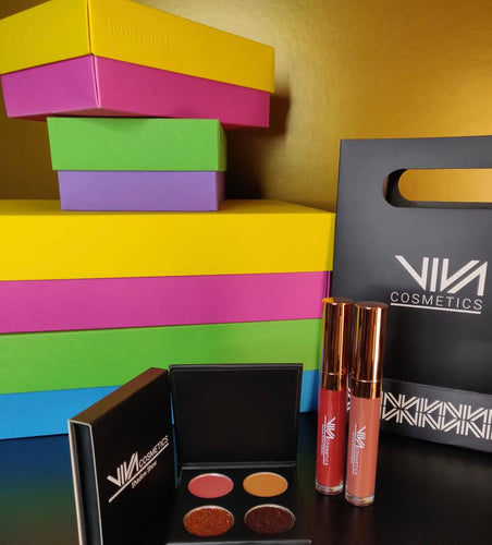Eyes & Lips Summer Sunsets Mini-Collection Box (Limited Quantities) - Viva Cosmetics