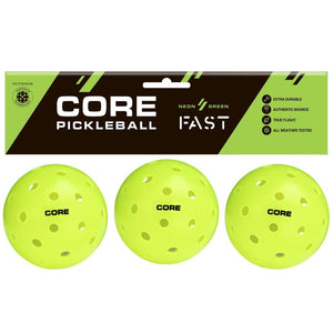 Contact Us Before Ordering - CORE Pickleballs - Outdoor - **Demo 3 Pack** - Core-Pickleball