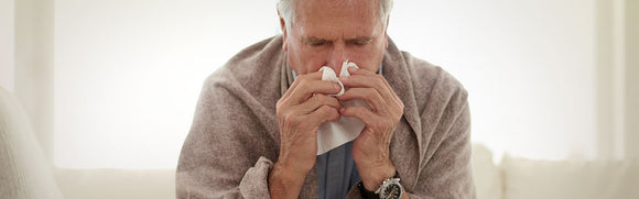 HANDLING COUGHS AND COLDS IN THE ELDERLY
