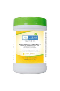 All Clean Natural 110 Lemon Disinfectant Wipes