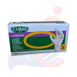 Curad - Powder-Free Latex Disposable Gloves (100/box)