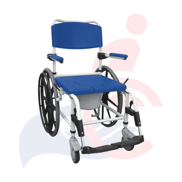 Drive™ - Aluminum Rehab Shower Commode Chair