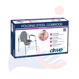 DRIVE™ - Folding Steel Commode