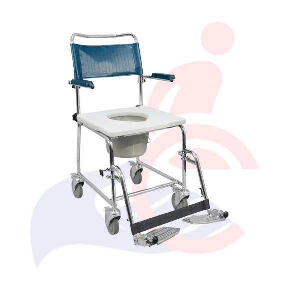 Euro Commode with flip-up armrests, MedPro Defense®