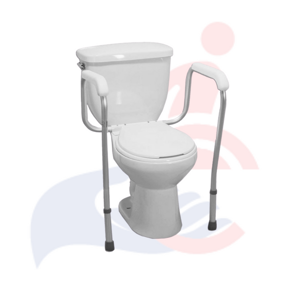 Ezee Life Versa Frame Adjustable Toilet Safety Frame