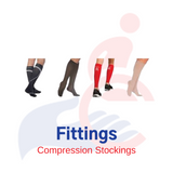 Prescription Medical Compression Socks/Stockings Fitting (In Person or Virtual)
