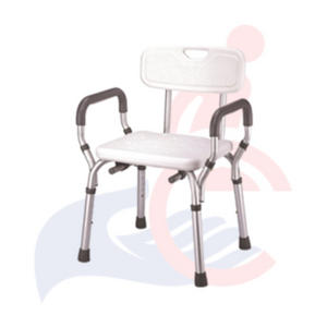 Probasics™ -  Bath / Shower Chair With Arms